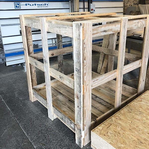export packing - packing cases, packing crates, wooden pallets - R. West & Son