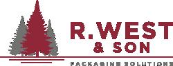 R. West & Son Logo